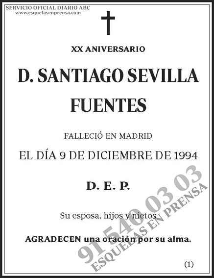 Santiago Sevilla Fuentes